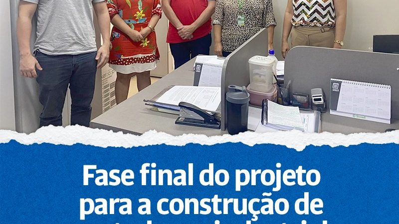 FASE FINAL DO PROJETO PARA A CONSTRUÇÃO DE MATADOURO INDUSTRIAL.